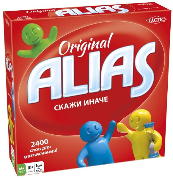 Настольная игра ALIAS. Скажи иначе (3-е издание)Настольная игра ALIAS &amp;ndash; третье издание популярной игры с абсолютно новыми словами для объяснения.<br>