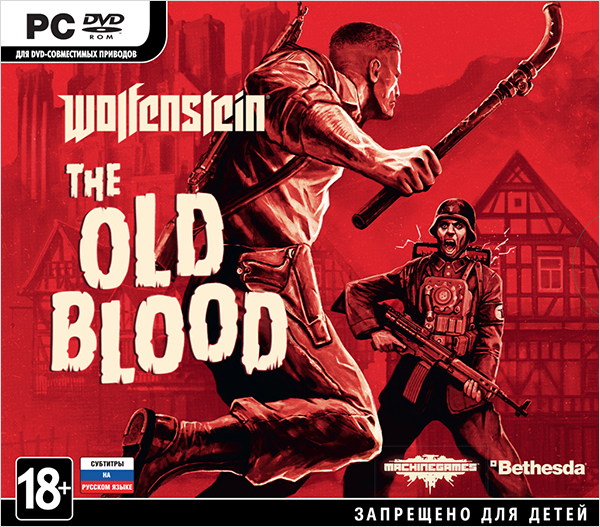Wolfenstein: The Old Blood [PC-Jewel]Игра Wolfenstein: The Old Blood – приквел знаменитого приключенческого боевика от первого лица. В этом самостоятельном дополнении к Wolfenstein: The New Order, под завязку наполненном адреналиновыми перестрелками, вас ждет совершенно новая история и фирменный игровой процесс Wolfenstein.<br>