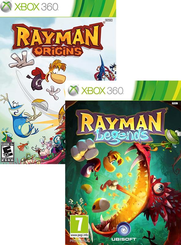 Комплект игр Rayman Legends + Rayman Origins [Xbox 360]