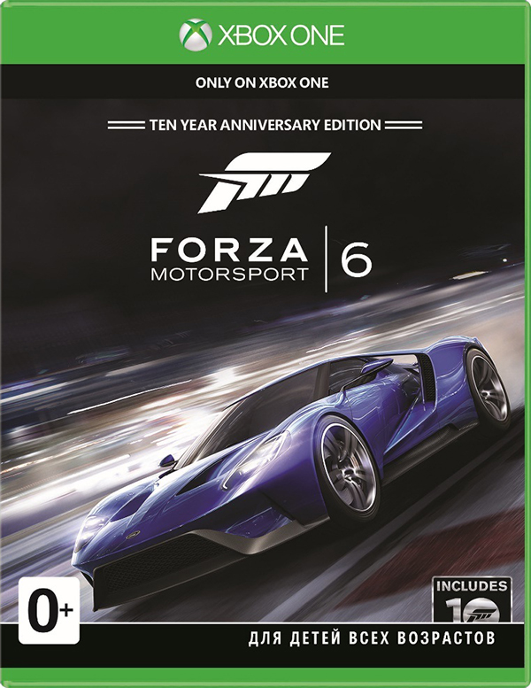 Forza Motorsport 6 [Xbox One] видеоигра для xbox one forza motorsport 7 ultimate edition