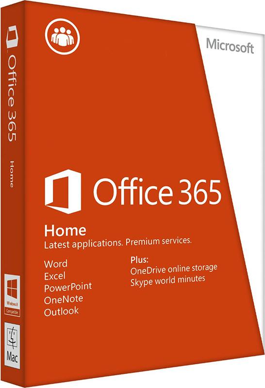 Microsoft Office 365 для дома расширенный. Подписка на 1 год [Цифровая версия] (Цифровая версия)