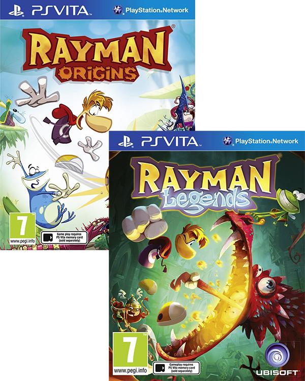 Комплект игр Rayman Legends + Rayman Origins [PS Vita]