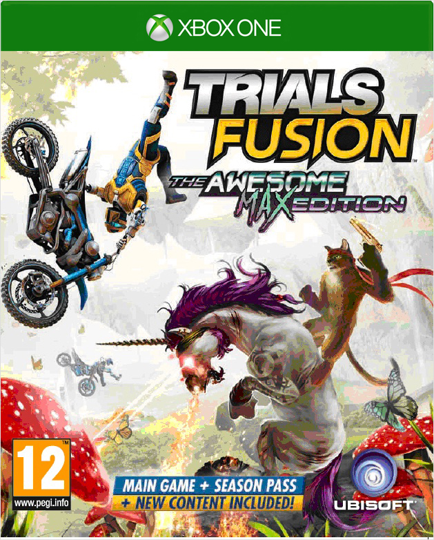 Trials Fusion: The Awesome. Max Edition [Xbox One] видеоигра для xbox one overwatch origins edition