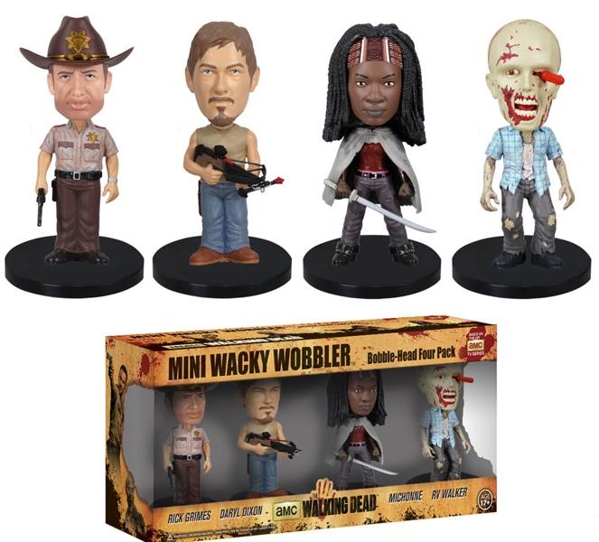 Набор фигурок The Walking Dead. 4 в 1 (8 см)Представляем вашему вниманию набор фигурок The Walking Dead. 4 в 1, созданный по мотивам популярного сериала «Ходячие мертвецы».<br>
