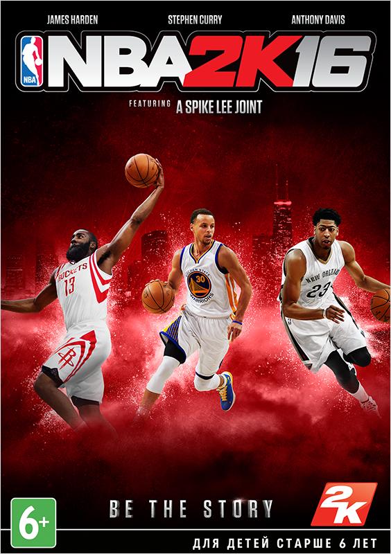 NBA 2K16  (Цифровая версия)В игре NBA 2K16 начинается новый сезон легендарной баскетбольной серии NBA 2K! Создайте собственного баскетболиста и помогите ему подняться на вершину спортивного Олимпа.<br>