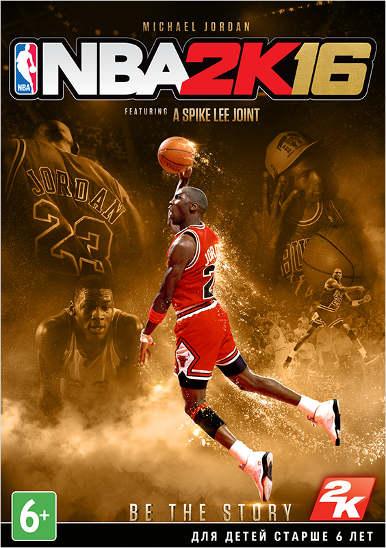 NBA 2K16. Michael Jordan Edition [PC, Цифровая версия] (Цифровая версия) lego marvel super heroes 2 deluxe edition [pc цифровая версия] цифровая версия