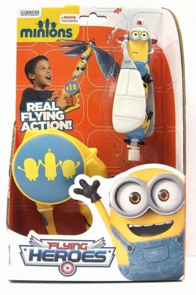 Фигурка Minions. Летающий геройПредставляем вашему вниманию фигурку Minions. Летающий герой, созданную по мотивам популярного анимационного фильма «Гадкий я».<br>