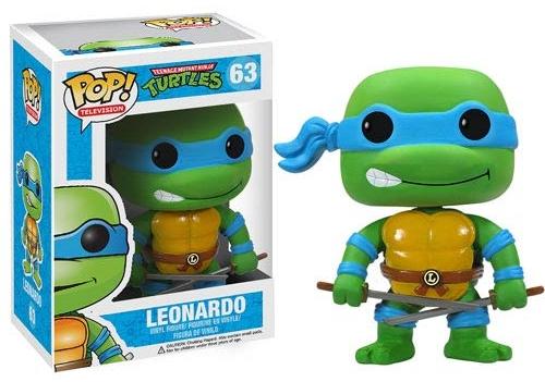 Фигурка TMNT. Leonardo POP (12 см)Представляем вашему вниманию фигурку TMNT. Leonardo POP, созданную по мотивам сериала «Черепашки-ниндзя» и воплощающую собой одного из главных героев.<br>