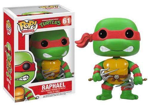Фигурка TMNT. Raphael POP (12 см)Представляем вашему вниманию фигурку TMNT. Raphael POP, созданную по мотивам сериала «Черепашки-ниндзя» и воплощающую собой одного из главных героев.<br>