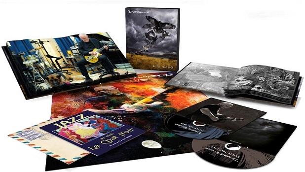 David Gilmour: Rattle That Lock (CD + Blu-ray)David Gilmour. Rattle That Lock – пятый сольный альбом голоса и гитары Pink Floyd. Делюксовое издание включает новый альбом на CD; Blu-ray с 10 бонусными видео-треками, 4 аудио треками, оригинальный альбом в 5.1 Surround (Dolby Digital and DTS), плюс стерео версия в 48kHz/24 bit; 2 буклета на 32 и 48 страниц; памятные вещи.<br>