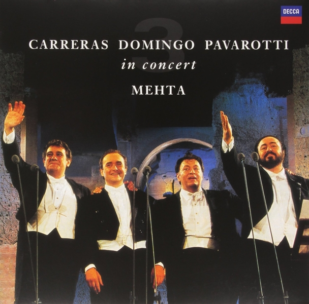 Jose Carreras & Placido Domingo & Luciano Pavarotti (LP)