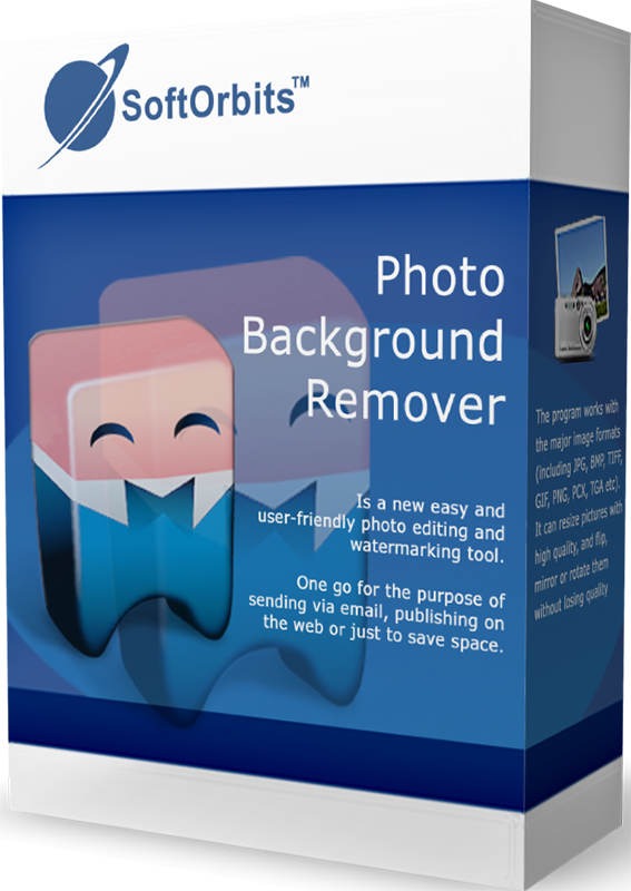 SoftOrbits Photo Background Remover (Удаление фона с фото) (Цифровая версия)
