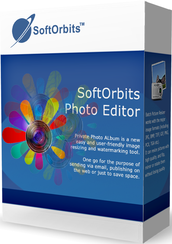SoftOrbits Simple Photo Editor (Фоторедактор для ПК) (Цифровая версия)