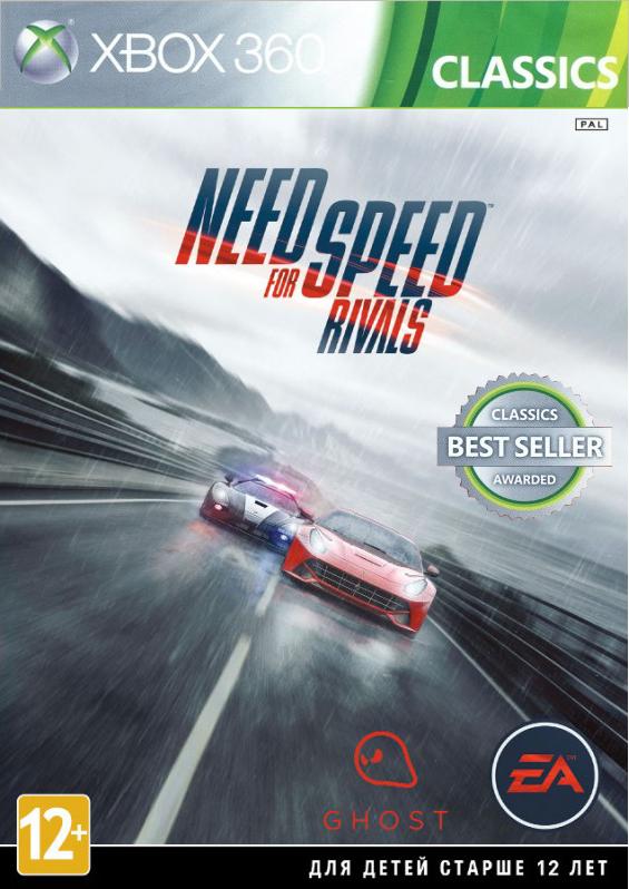 Need for Speed Rivals (Classics) [Xbox 360]Встаньте на сторону стритрейсеров или полицейских в игре Need for Speed Rivals &amp;ndash; гоночном симуляторе, двадцатым по счету из серии игр Need for Speed, от компаний Ghost Games и Criterion Games.<br>