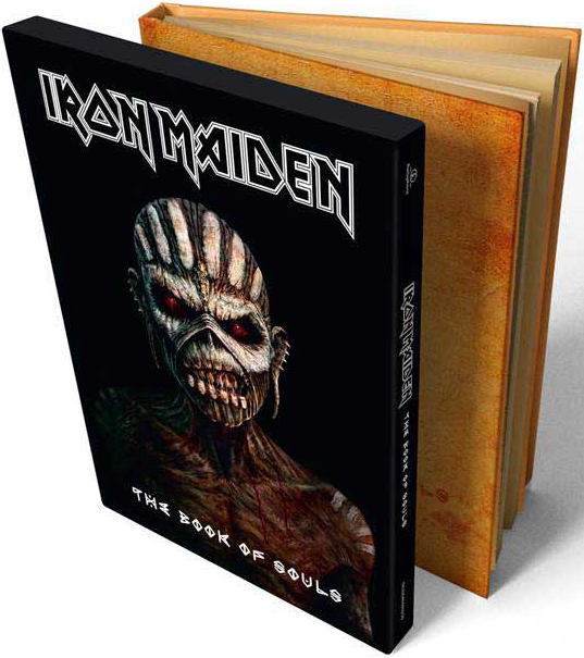 Iron Maiden: The Book Of Souls – Deluxe Limited Edition (2 CD) riggs r library of souls