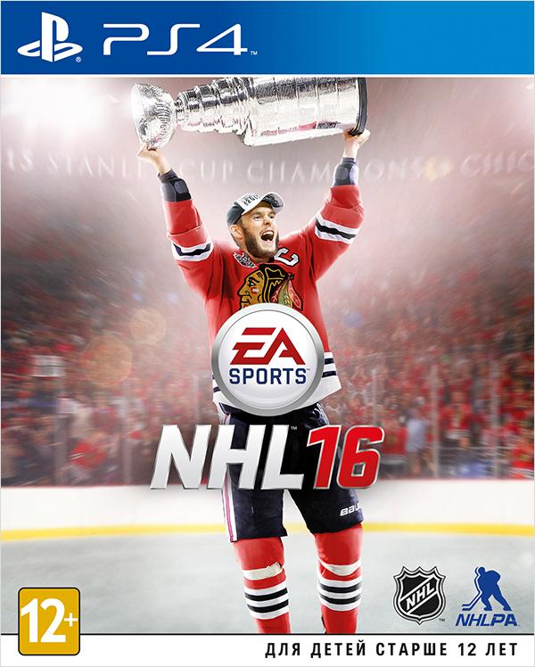 NHL 16 [PS4]Созданная с учетом отзывов фанатов игра NHL 16 включает в себя командные соревнования, новые функции в самых популярных индивидуальных режимах, новшества в игровом процессе по всем позициям и непередаваемую атмосферу хоккея.<br>