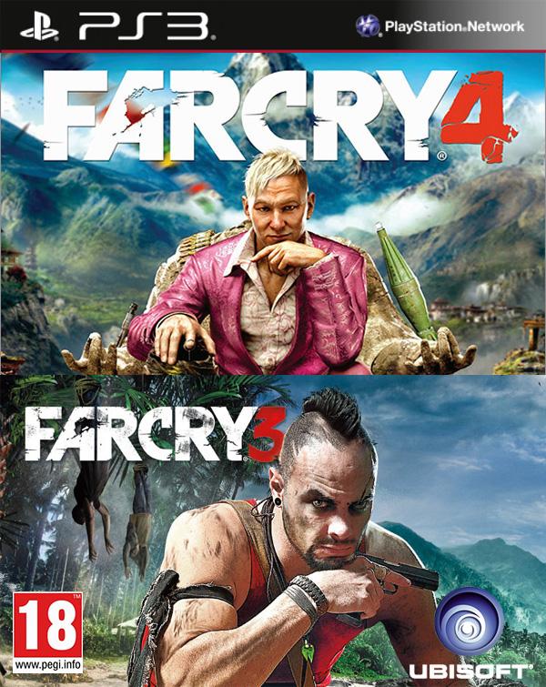 Комплект игр Far Cry 3 + Far Cry 4 [PS3]