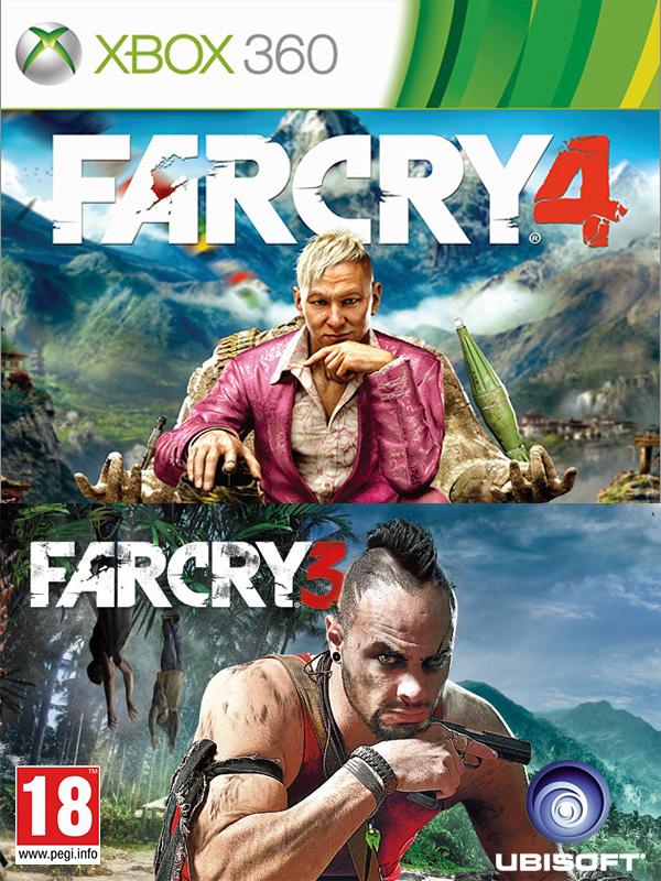 Комплект игр Far Cry 3 + Far Cry 4 [Xbox 360]