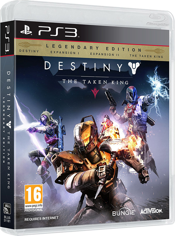 Destiny: The Taken King. Legendary Edition [PS3]