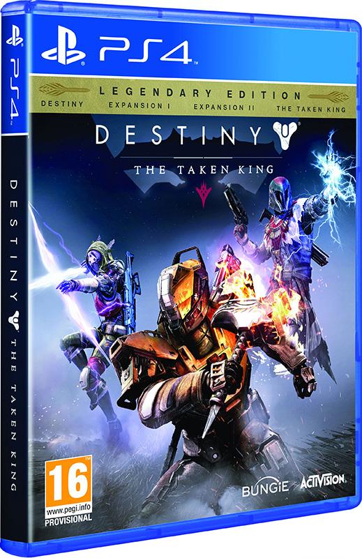 Destiny: The Taken King. Legendary Edition [PS4]