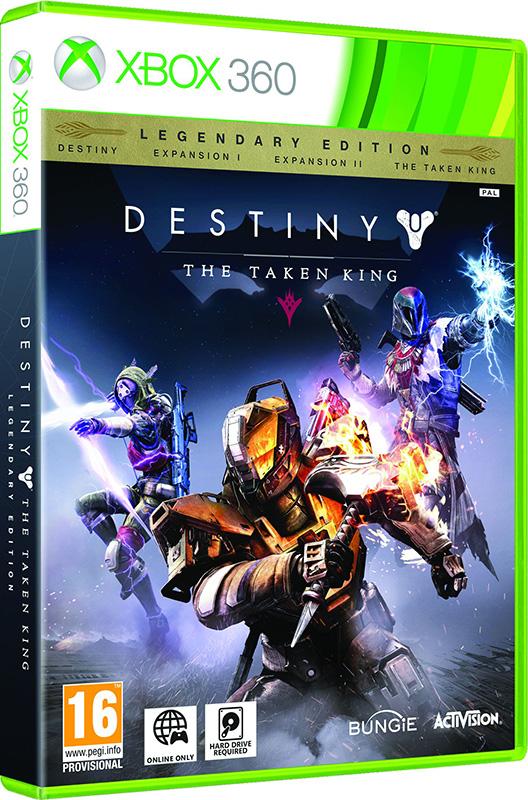 Destiny: The Taken King. Legendary Edition [Xbox 360]