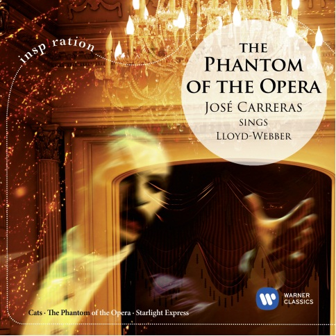 Phantom of the Opera – Jose Carreras Sings Lloyd Webber (Inspiration) (CD) phantom phantom ph2139