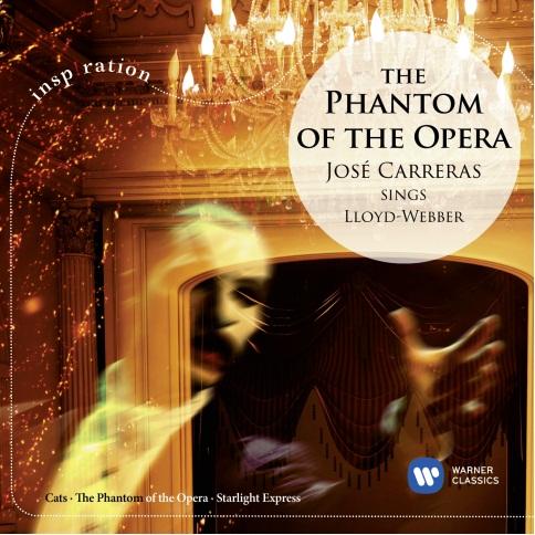 Phantom of the Opera – Jose Carreras Sings Lloyd Webber (Inspiration) (CD)Представляем вашему вниманию альбом Phantom of the Opera – Jose Carreras Sings Lloyd Webber, который включает все незабываемые мировые хиты некоронованного короля мюзиклов.<br>