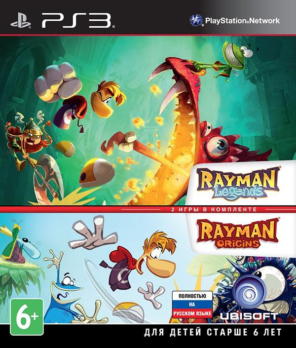 Комплект игр Rayman Legends + Rayman Origins [PS3]