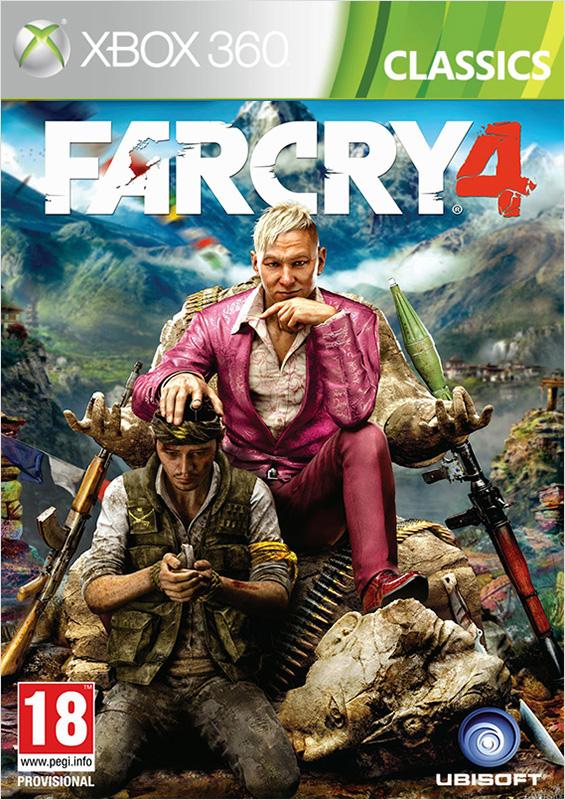 Far Cry 4 (Classics) [Xbox 360]В Far Cry 4 у вас появится возможность исследовать гигантский открытый мир, а заодно опробовать обновленную систему совместной игры.<br>
