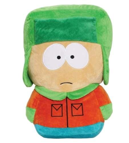 Мягкая игрушка-подушка Южный парк. Кайл (35 см)Мягкая игрушка-подушка Южный парк. Кайл – сувенирная мягконабивная подушка в виде персонажа американского мультсериала «Южный парк», созданного Мэттом Стоуном и Треем Паркером.<br>