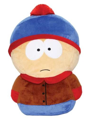 Мягкая игрушка-подушка Южный парк. Стэн (35 см)Мягкая игрушка-подушка Южный парк. Стэн  воплощает собой персонажа американского мультсериала «Южный парк», созданного Мэттом Стоуном и Треем Паркером.<br>