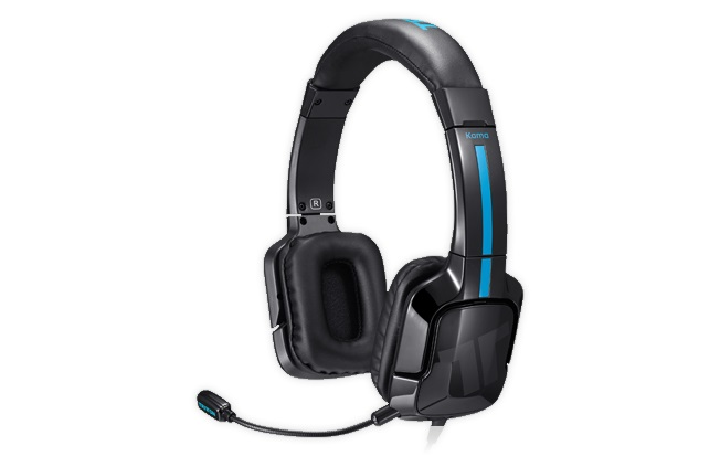 Стереогарнитура Tritton Kama Stereo Headset для PS4/PS Vita (черная) tritton tri484000m02 02 1 xbox one tm kunai stereo headset