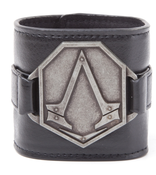 Браслет Assassin's Creed Syndicate. With Metal Logo