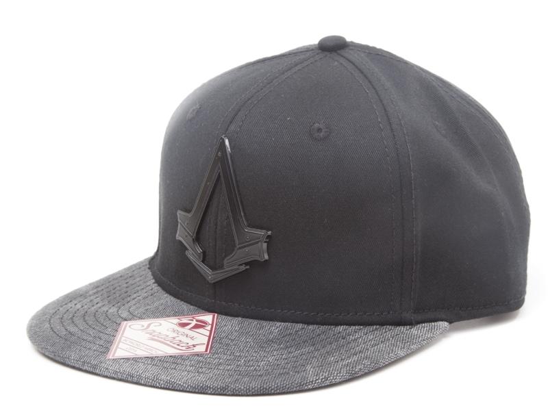 Бейсболка Assassin's Creed Syndicate (с металлическим логотипом и текстурным козырьком)