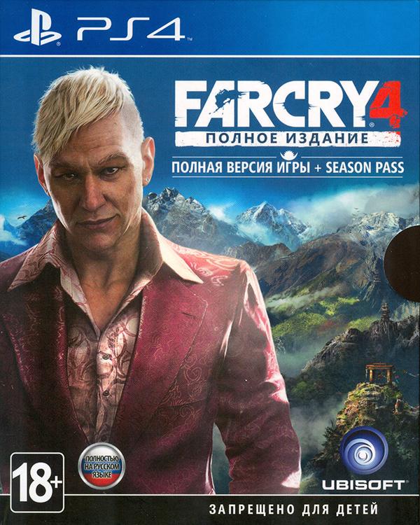 Far Cry 4. Полное издание [PS4]В игре Far Cry 4 &amp;ndash; у вас появится возможность исследовать гигантский открытый мир, а заодно опробовать обновленную систему совместной игры.<br>