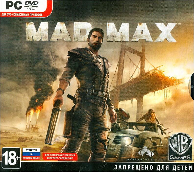 Mad Max [PC-Jewel] видеоигра для pc mad max