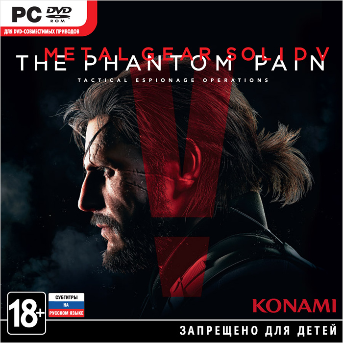 Metal Gear Solid V: The Phantom Pain [PC-Jewel]