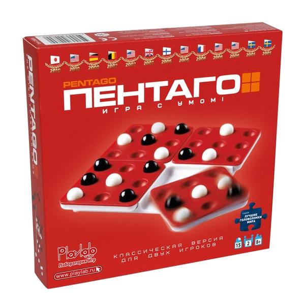 Настольная игра ПентагоНастольная игра Пентаго – классическая версия в компактной упаковке. Теперь вы можете брать Пентаго с собой в дорогу, путешествие, поездки!<br>