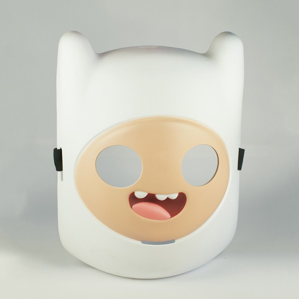 Маска Adventure Time. FinnМаска Adventure Time. Finn создана по мотивам одного из самых популярных мультсериалов Adventure Time (Время Приключений с Финном и Джейком).<br>