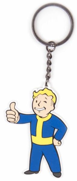 Брелок Fallout 4. Vault Boy ApprovesБрелок Fallout 4. Vault Boy Approves создан по мотивам популярной видеоигры Fallout 4.<br>
