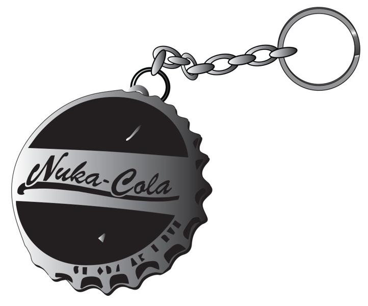 Брелок Fallout 4. Nuka Cola Bottle CapБрелок Fallout 4. Nuka Cola Bottle Cap создан по мотивам популярной видеоигры Fallout 4.<br>