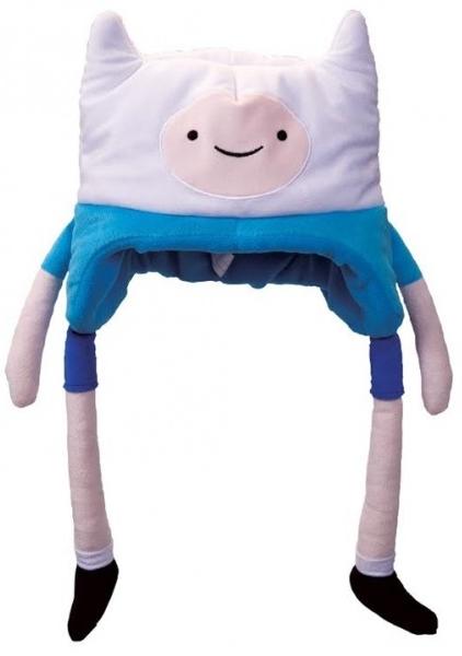 Плюшевая шапка Adventure Time. FinnПлюшевая шапка Adventure Time. Finn создана по мотивам мультсериала Adventure Time (Время Приключений с Финном и Джейком), созданного Пендлетоном Уордом.<br>