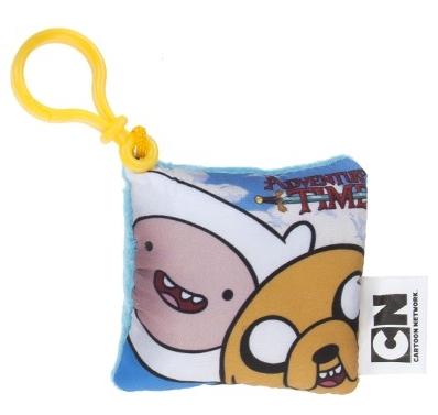 Брелок-подушка Adventure Time. Finn & Jake (7,5 см)