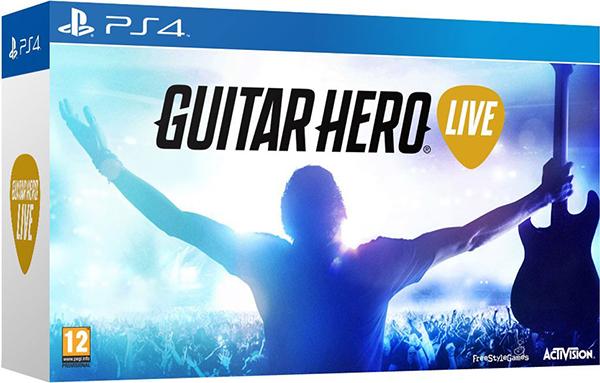 Guitar Hero Live (Контроллер Гитара + игра) [PS4]
