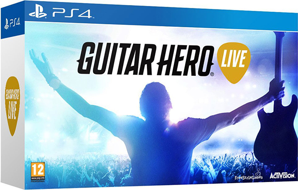 Guitar Hero Live (Контроллер Гитара + игра) [PS4] guitar hero world tour купить pc