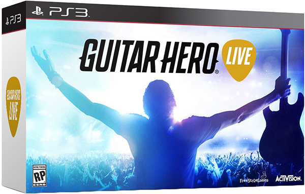 Guitar Hero Live (Контроллер Гитара + игра) [PS3] guitar hero world tour купить pc