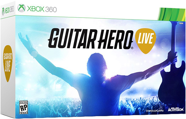 Guitar Hero Live (Контроллер Гитара + игра) [Xbox 360]