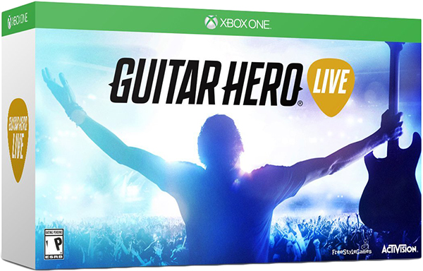Guitar Hero Live (Контроллер Гитара + игра) [Xbox One]