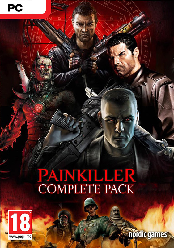 Painkiller. Complete Pack [PC, Цифровая версия] (Цифровая версия) 2016 anime sexy keumaya final hyper nurse painkiller kotone black