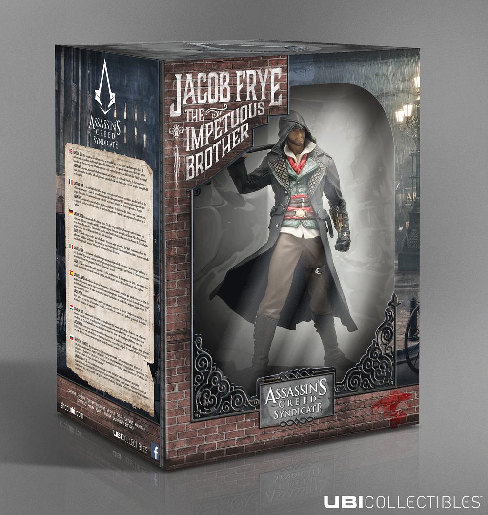 Фигурка Assassins Creed Syndicate JacobUbicollectibles представляет: коллекционная фигурка Джейкоба Фрая, героя новой части знаменитой серии игр Assassin's Creed Синдикат.<br>